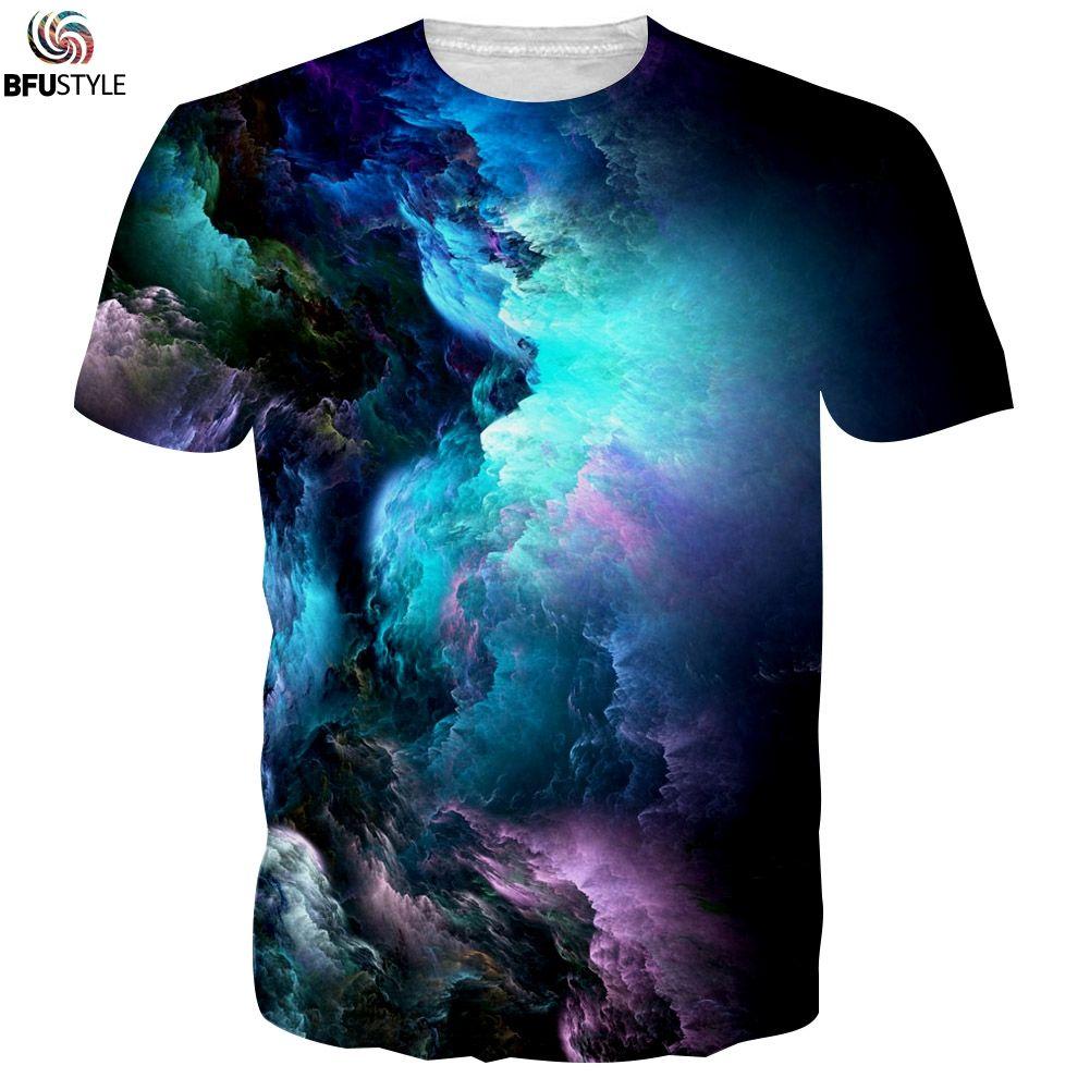 T-Shirt graphique homme 2019 motif nuage T-Shirt imprimé 3D Poleras Hombre décontracté été hauts t-shirts marque grande taille T-Shirt drôle
