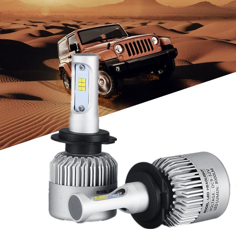 H1 H4 H7 CSP COB Car Led Headlight 12V H11 H3 HB4 Fog Light car styling Headlamp Bulb Auto for BMW Volkswagen Toyota Automobiles