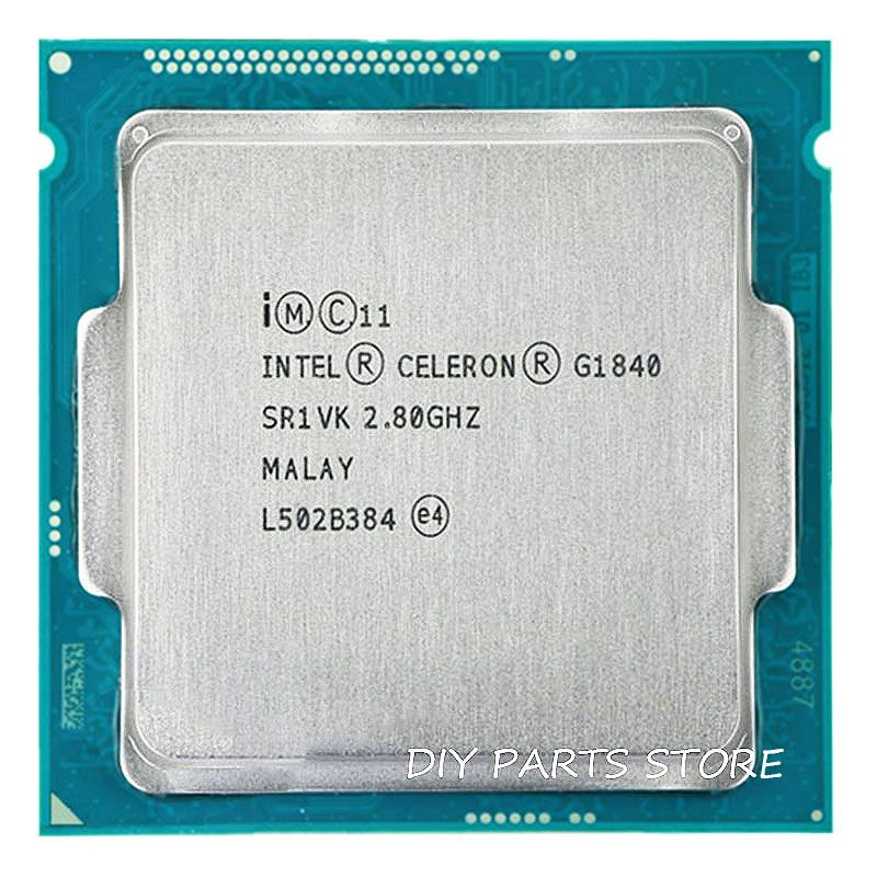 Intel Celeron Dual-Core G1840 CPU processeur 2.8 GHz Dual-Core 2 MB LGA1150 LA DPT 53 W RAM DDR3 1333 1 an de garantie