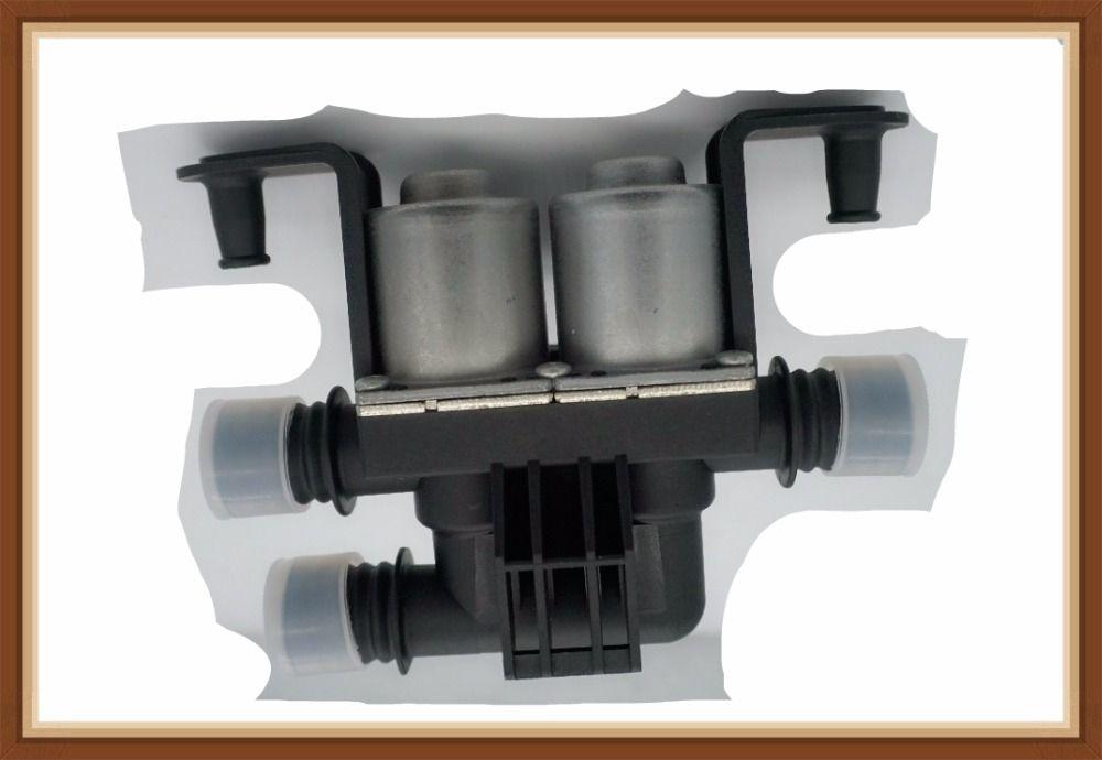 FREE SHIPPING Warm water valve For BMW E70 X5 E53 E71 X6 OEM 64116910544 1147412166 Heater Control Valve