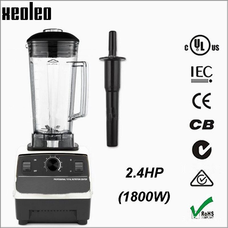 XEOLEO Commercial Blender 2.4HP Food blender 2L Blender machine 110V/220V Food mixer Fruit&Vegetable mixer EU/AU/UK/US Plug