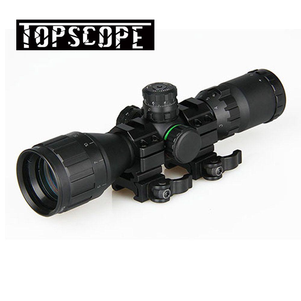 Jagd Optische 3-9x32 AO 1 zoll Rohr Mil-dot Compact Zielfernrohr Mit Sonnenschutz und QD Ringe Taktische Gewehr umfang