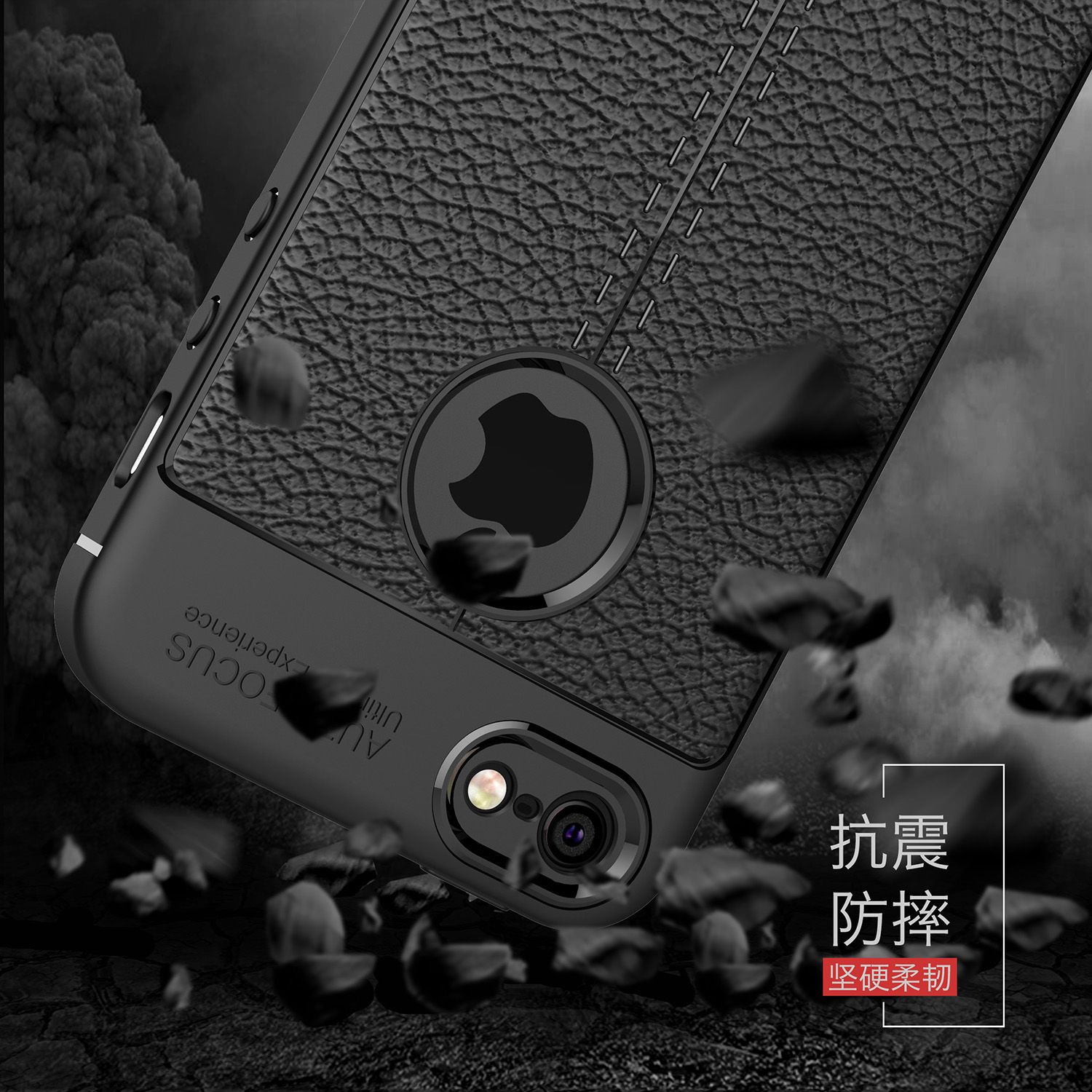 WolfRule sFor Apple SE Iphone Case Shockproof Case For Apple Se Iphone Se Case Luxury Leather Soft TPU For Iphone 5s Cover ]