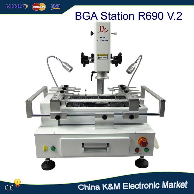 LY tiroir type tactile écran BGA station de reprise R690 v.2 station de soudage Carte Mère BGA réparation machine