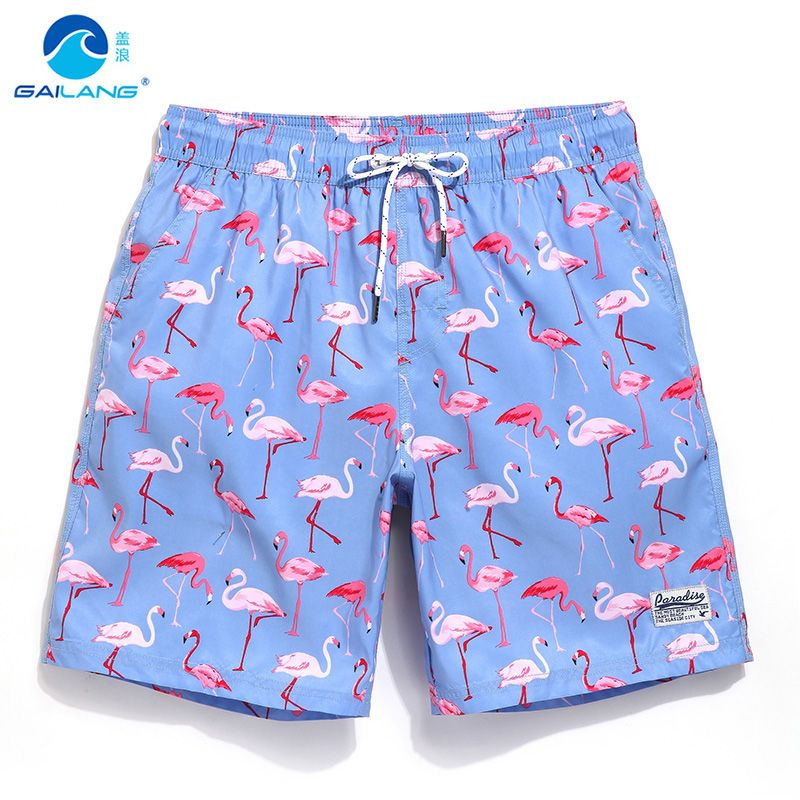 Couple conseil shorts maillots de bain doublure joggeurs sueur couler maillot de bain plage surf boardshort sport Fitness plus bermudas B5