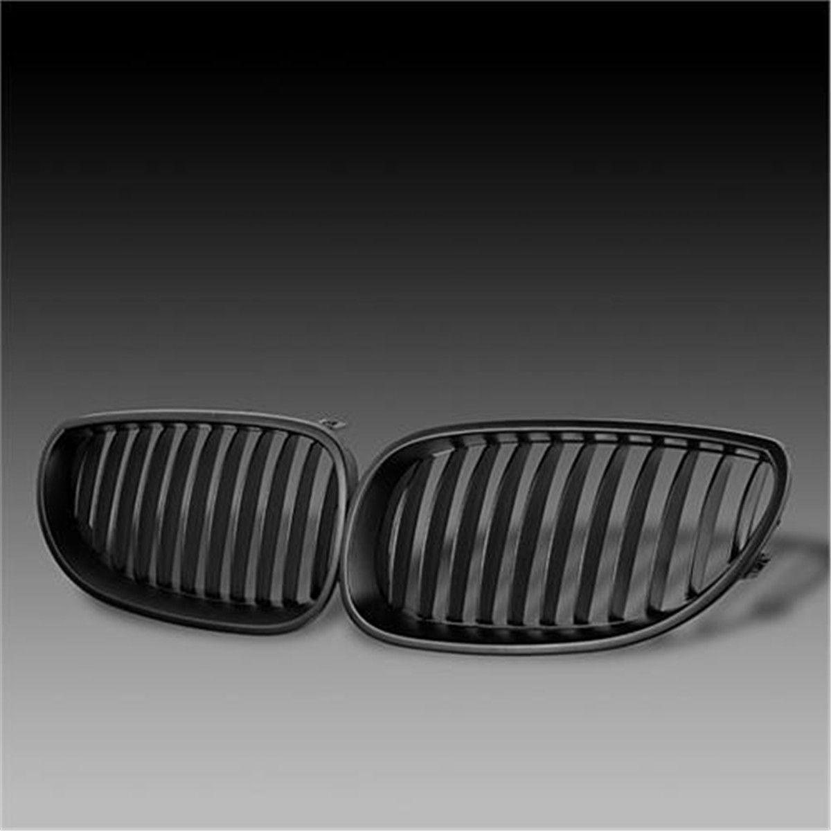 Front Black Sport Wide Kidney Grille Grill For BMW E60 E61 5 Series M5 2003-2009