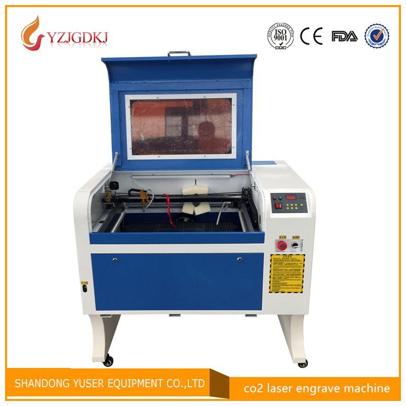 4060 Laser Gravur, 50 W Co2 Laser Schneiden Maschine mit Waben Specifical für Sperrholz/Acryl/Holz/Leder, Freies lieferung