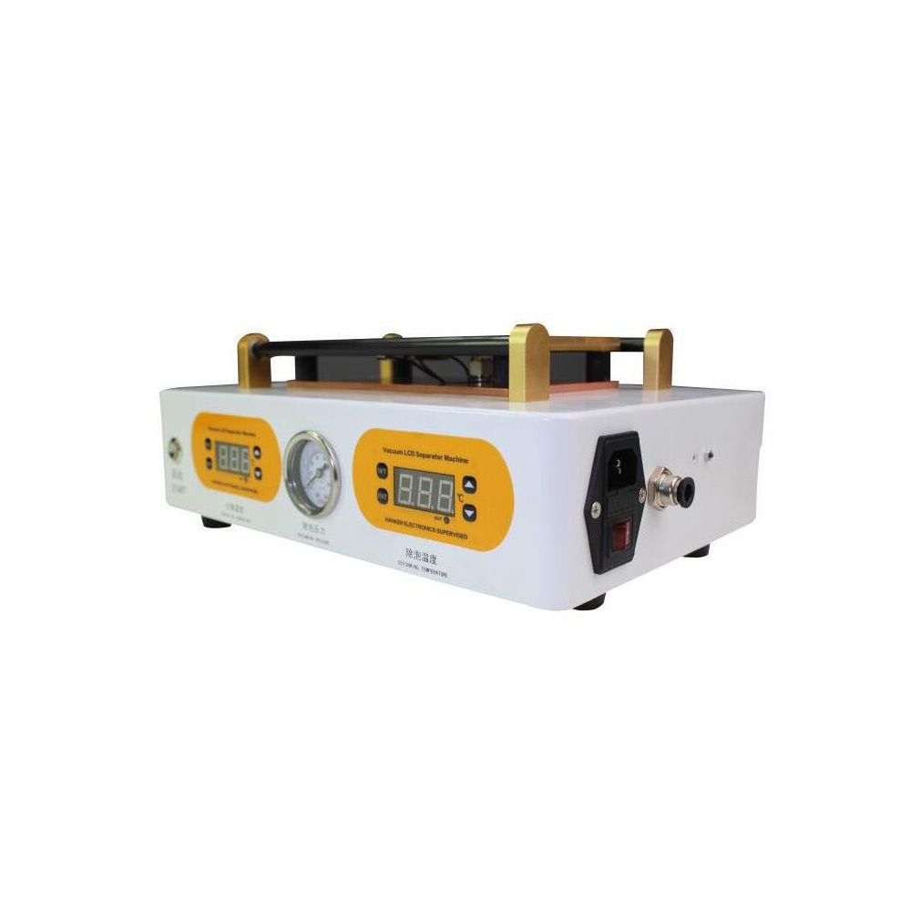 Mini High Pressure Auto LCD Bubble Remove Machine + LCD Screen Separator Separater Machine for 7 Inch Screen Repair