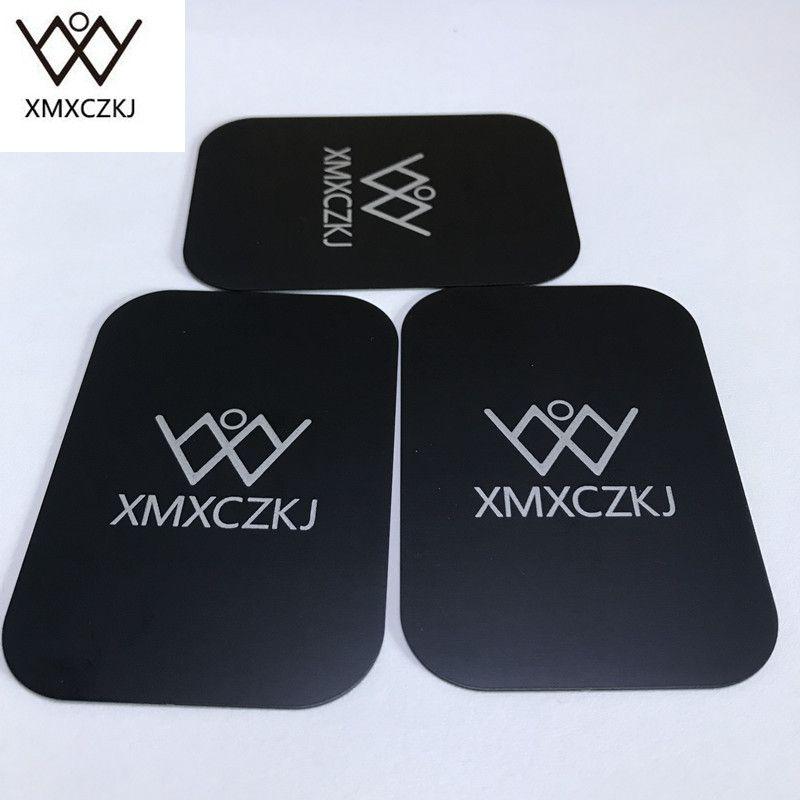 Можем напечатать логотип из металла универсальные металлические пластины с клеем магнит для крепления Магнитная телефон Автомобильный де...
