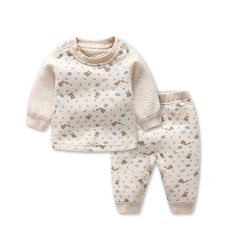 2018 Le nouveau Chaud Garçons Filles Vêtements de coton Bébé Ensembles WHF1-WHF13