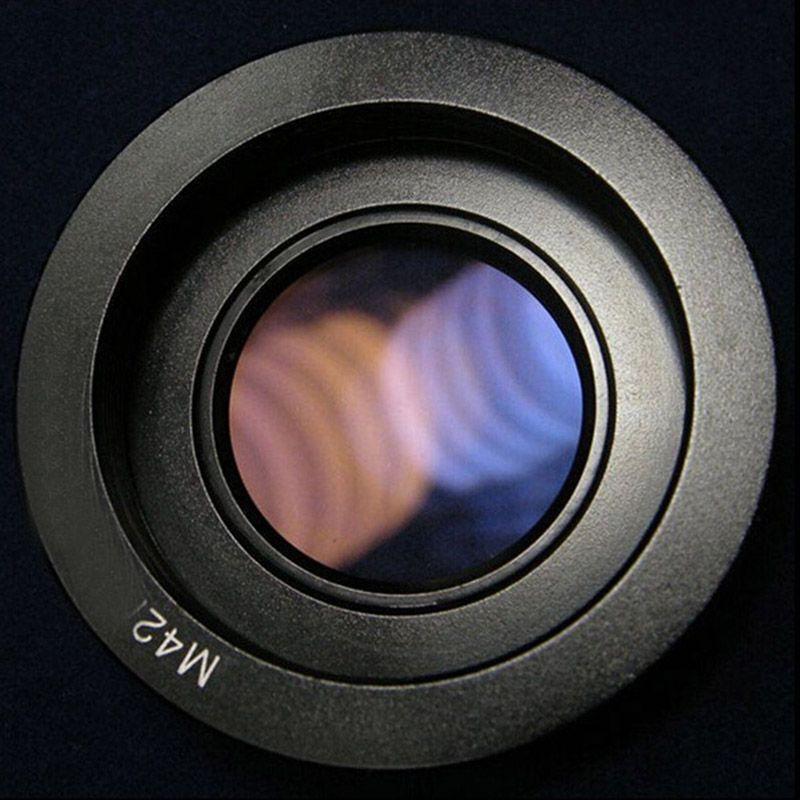 10 pièces adaptateur d'objectif pour objectif M42 vers adaptateur de monture Nikon avec verre de mise au point Infinity pour appareil photo reflex numérique Nikon D80 D90 D700 D5000
