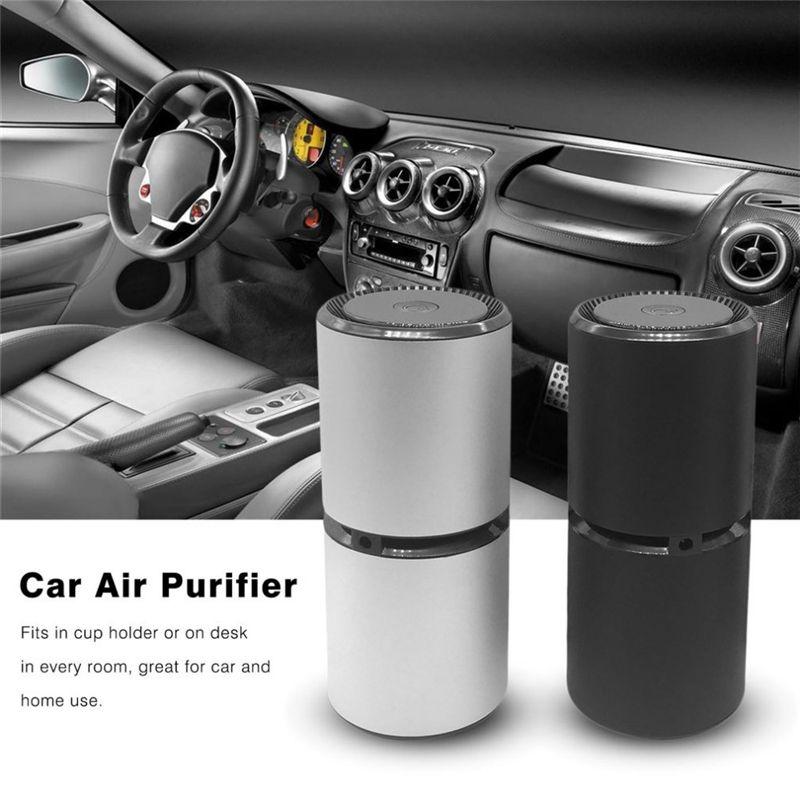 Auto Luftreiniger Kabine Ionisator Lufterfrischer Geruch Eliminator Luft Filter Sauerstoff Bar Tragbare Ionischen Reiniger USB Entfernen Geruch Rauch