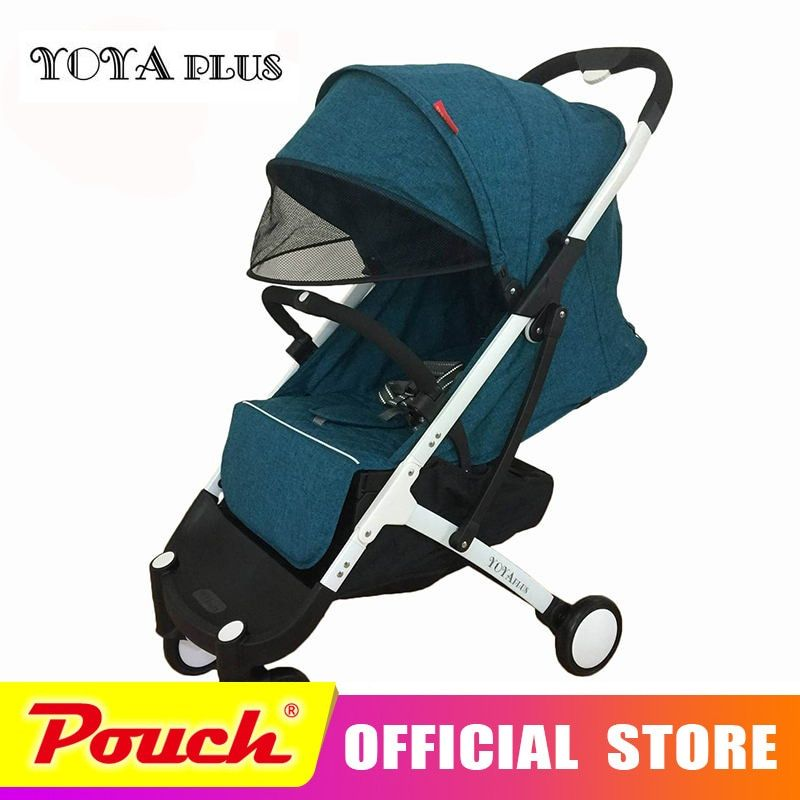 YOYA PLUS baby strollers ultra-lightweight folding can sit can lie high landscape umbrella yoya plus baby carriage