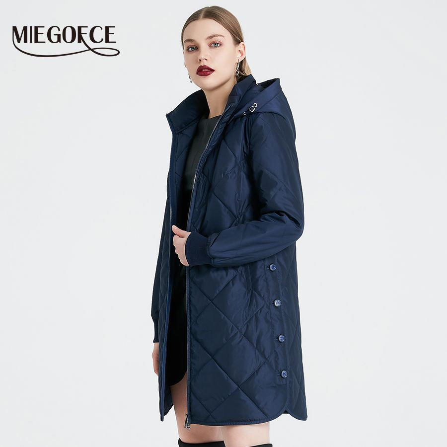 MIEGOFCE 2019 Frühling Herbst frauen Jacke Einfache Stepp frauen Mantel Mode Winddicht Warme Parka Neue Design Heißer Verkauf produkt