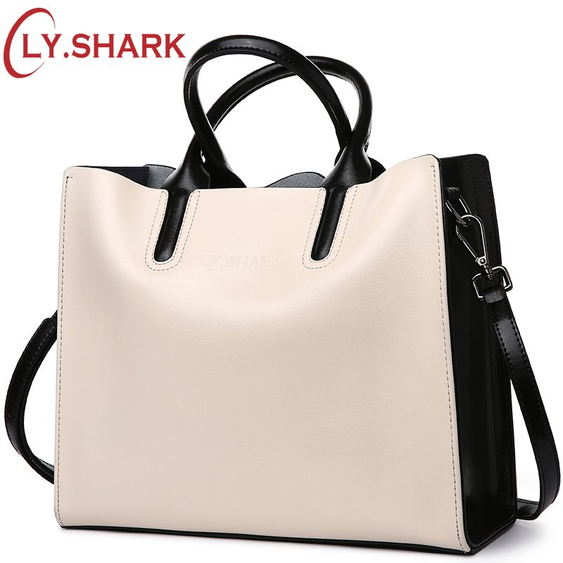 LY.SHARK luxury handbags women bags designer genuine leather bag ladies messenger shoulder crossbody bags for women 2018 tote