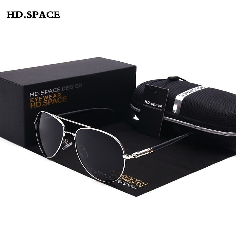 Classique lunettes de soleil polarisées hommes Vintage mode style lentes de sol mujer nouvelle marque designer lunettes pour pilote mâle lunettes de soleil