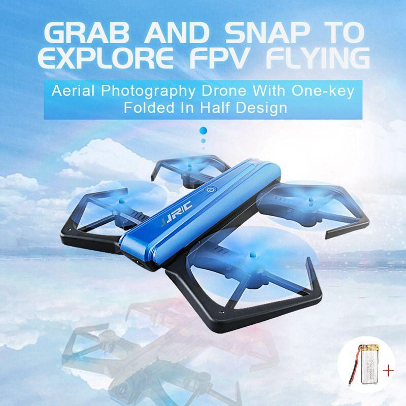 Jjrc H43wh Selfie Drone Avec Caméra 720 p Pliable Drones Mini Rc Drone Télécommande Jouets Pour Enfants Wifi Rc hélicoptère