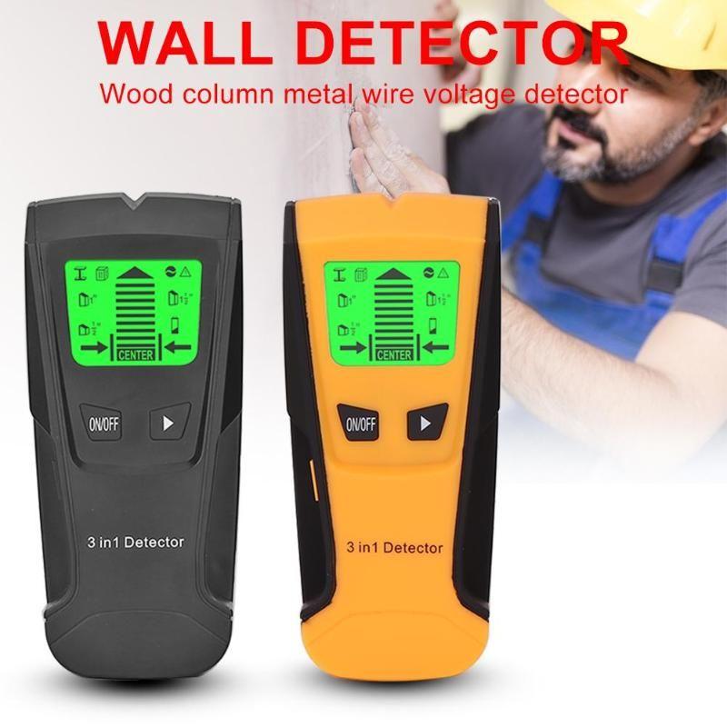 Détecteur de métaux 3 en 1 détecteur de goujons de bois détecteur de tension ca