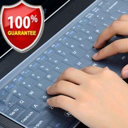 Étanche Clavier D'ordinateur Portable de protection film 15 clavier d'ordinateur portable couverture 15.6 17 14 Clavier d'ordinateur portable couverture antipoussière film silicone