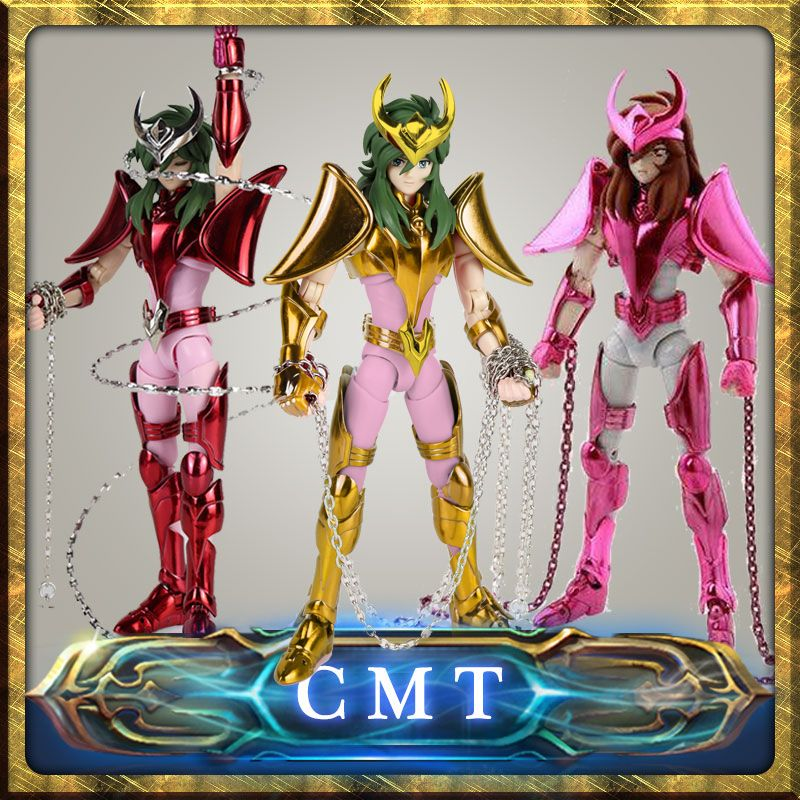 CMT EX Andromeda Shun V3 OCE Version final Cloth EX metal armor GREAT TOYS GT EX Bronze Saint Seiya Myth Cloth Action Figure