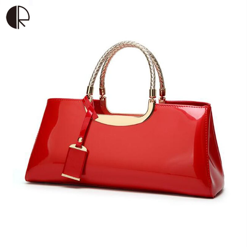 Luxurious Evening Bags Paint Smooth Handbag for Women Banquet Bag Female Totes Jelly Bags bolsa feminina for Wedding/Party