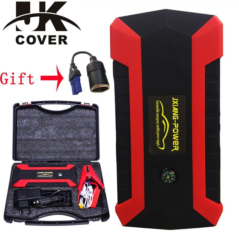 JKCOVER 68000mWh 800A Auto Starthilfe für Benzin Auto Batterie Ladegerät Notfall 60C Entladung Auto Ab High Power Pack Bank