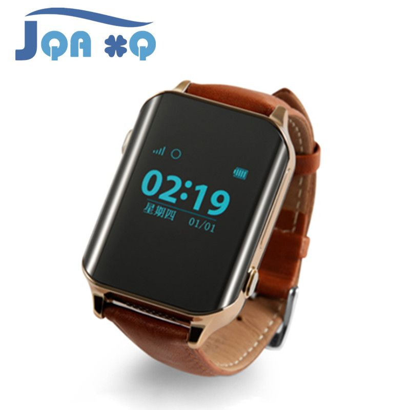Luxury Smart Watch GPS Tracker Heart Rate Monitor Locator for Elder Locating Wristwatch SIM Card Bluetooth Healthy Andriod