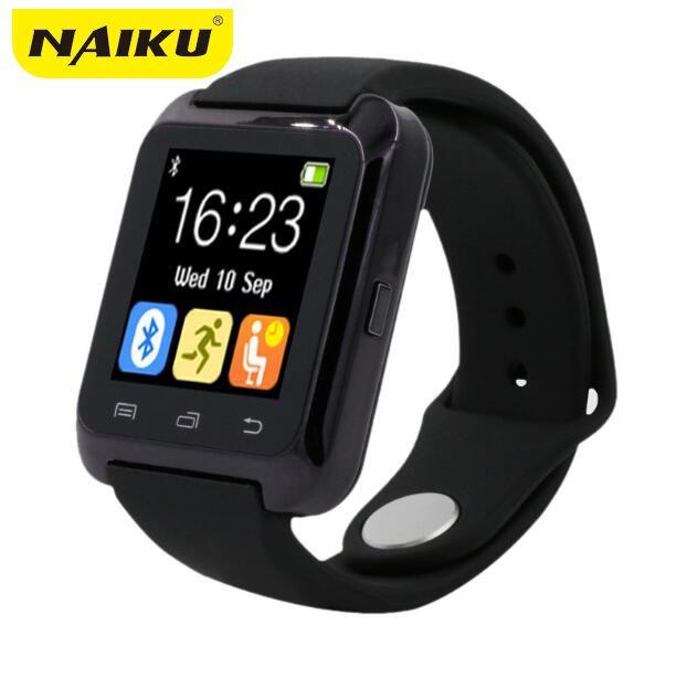 SmartWatch Bluetooth Smart часы U80 для iPhone IOS Android смартфон Носите часы Носимых устройств умные часы PK U8 GT08 DZ09 w8
