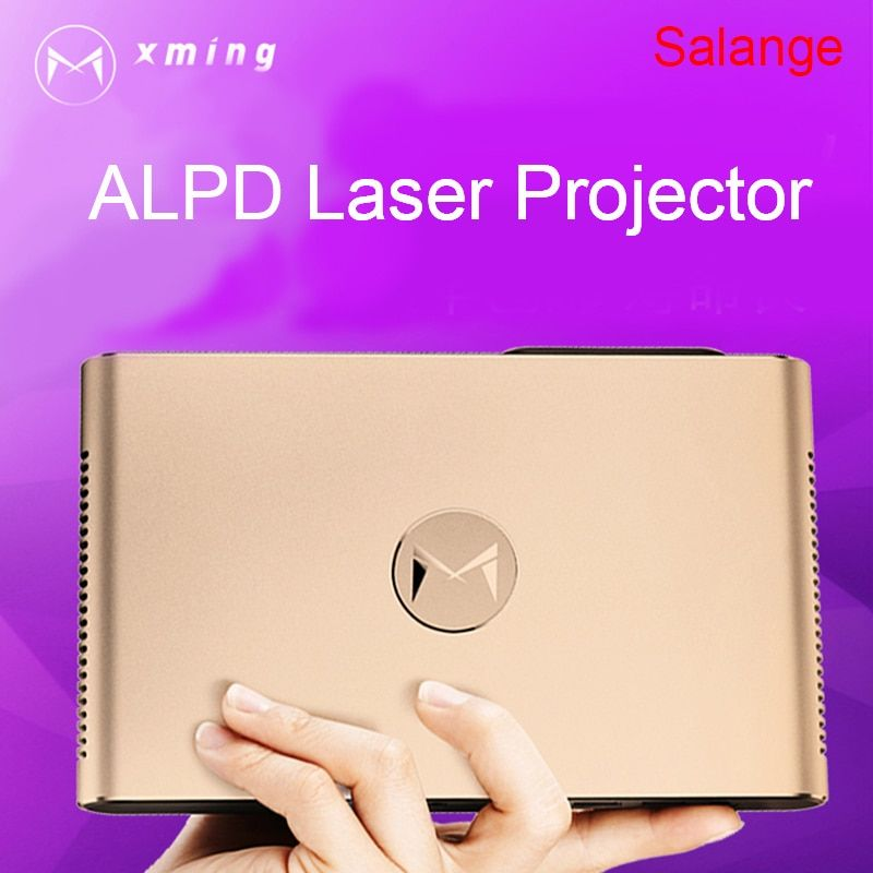 XMING S2 Laser Projector Android WIFI Bluetooth 3D 3600 Lumens Motorized Laser Lens 2G 16G 300 inch home Beamer