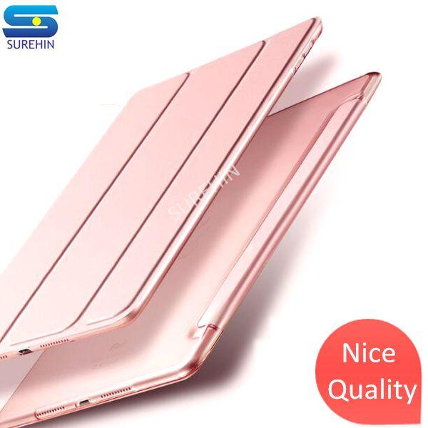 SUREHIN Belle smart étui en cuir pour apple iPad Pro 10.5 housse pour ipad pro 10.5 transparent mince protéger magnétique