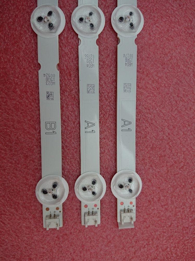 (Nouveau original Kit) 3 pièces (2 * A1 1 * B1) 7 LED s 630mm LED bande de rétro-éclairage pour LG 32LN5700 6916L-1204A 6916L-1426A 1438A