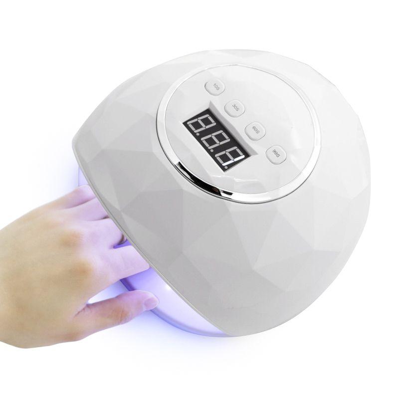 Kesinail 86 W UV lampe à LED sèche-ongles 39 pièces LED double mains lampe à ongles pour le traitement UV Gel vernis à ongles avec capteur minuterie LCD affichage