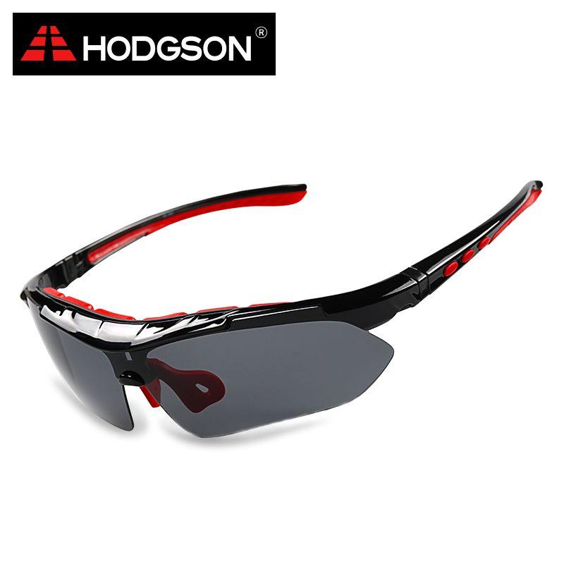 Ходжсон 1013 Съемная поляризационные Велоспорт очки комплект со сменными объективами Защита от солнца Очки велосипед спортивные очки цикл С...