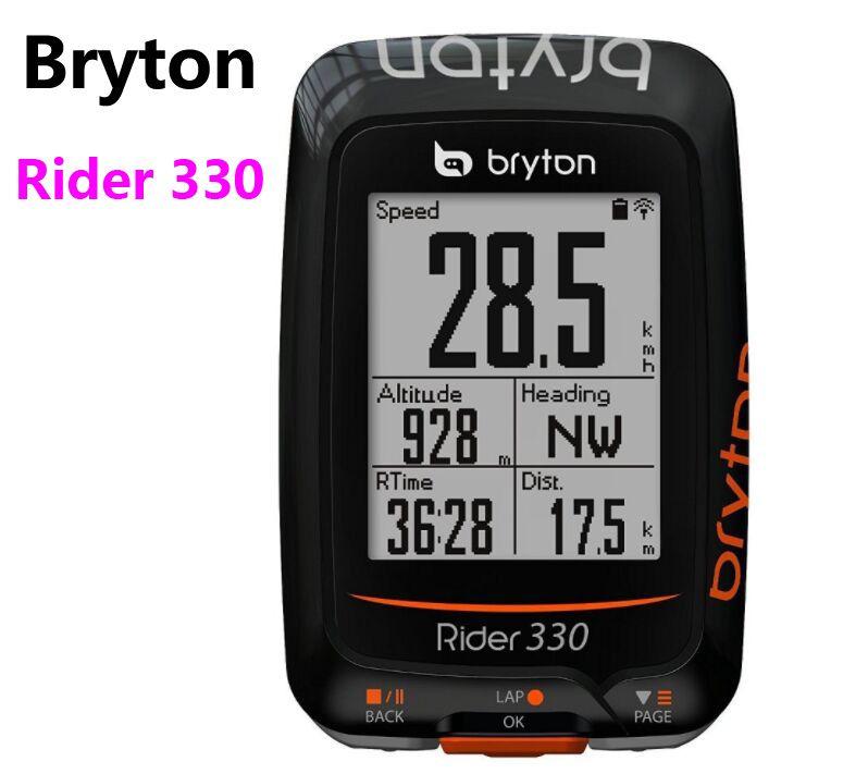 Bryton Rider 330 GPS Cycling Computer Enabled Bicycle/Bike computer Waterproof wireless speedometer pk Garmin Edge 200 510 810