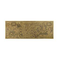 Livraison Gratuite Harry Potter Magique Carte Du Monde Célèbre Vue Kraft Papier Café Bar Affiche Rétro Affiche Peinture Décorative 72x26 cm