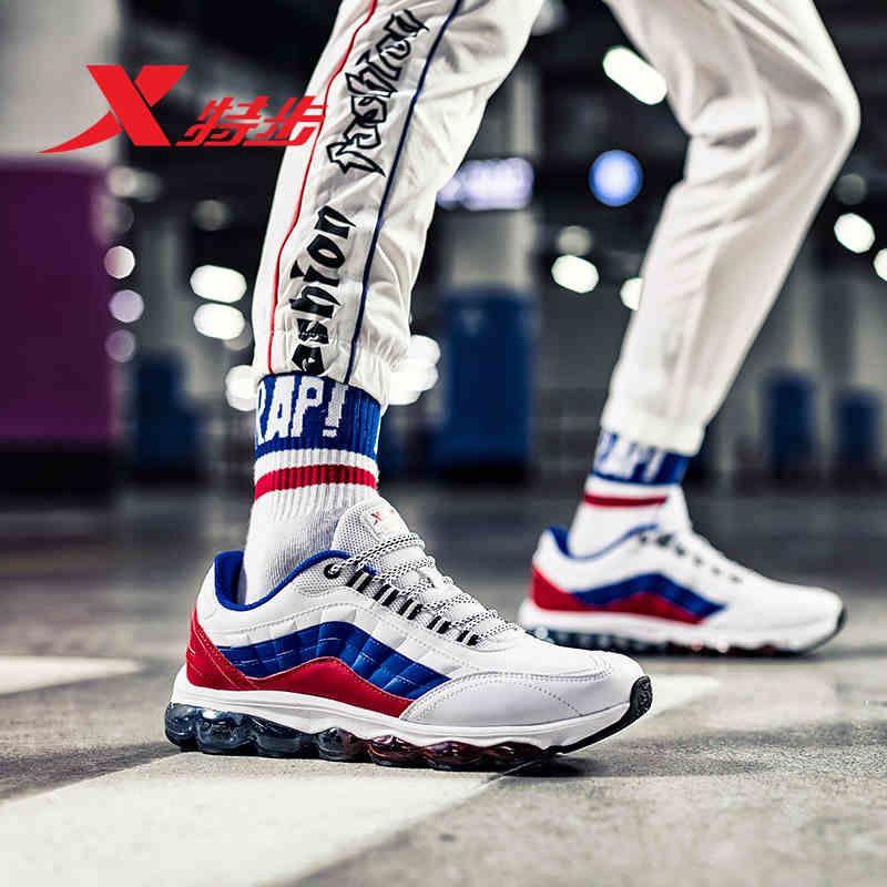 982119119087 XTEP Professionnel de Sport L'ensemble Pied Air Mega Semelle D'amortissement Sport Formateurs hommes Courant des Espadrilles Chaussures