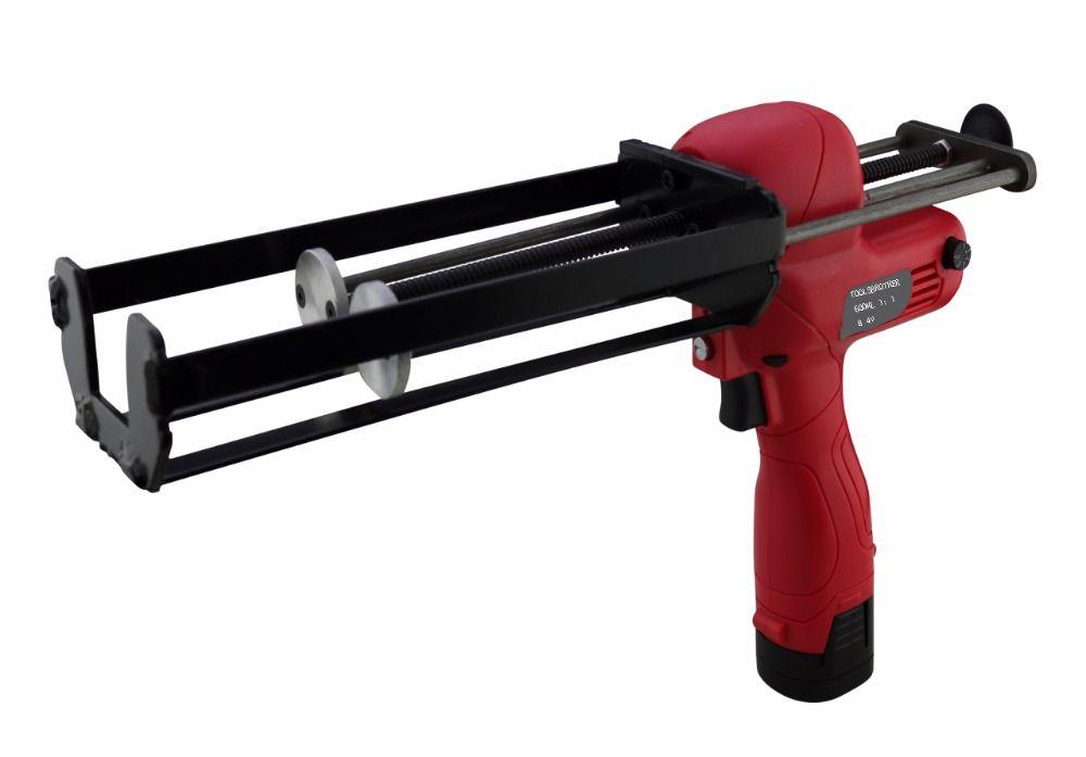 Hohe Qualität 600 ml 1:1 Zwei Komponenten Batterie Kartuschenpistole Akkupistole Elektrische Kartuschenpistole