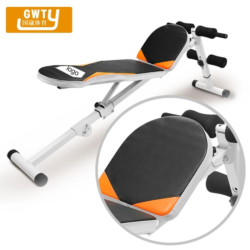 sit up board exercise equipment household supine abdominal plate belly Training Exercise board sit-up machines supine board