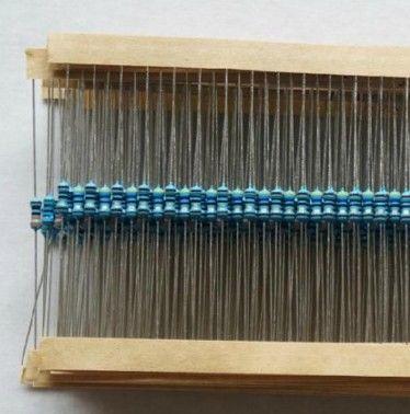 1000PCS 1/4w Watt 10 ohm 10R ohm Metal Film Resistor 0.25W   1%