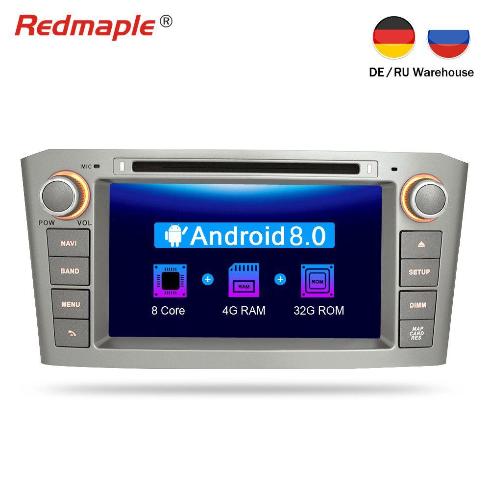 Android 8.0 Auto DVD player GPS Navigation Multimedia Stereo Für Toyota Avensis T25 2003-2008 Auto Bluetooth Radio Audio Steuergerät