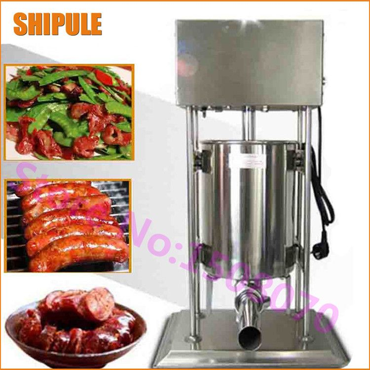 25L Vertical Commercial Electric sausage filler Sausage stuffer stuffing machine