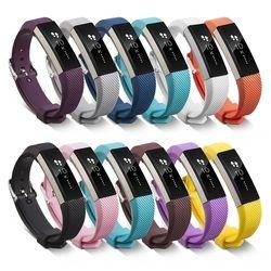 SCOMAS bracelet En Silicone Souple pour Fitbit Alta pour Fitbit Alta HR Remplacement Bande Montre Sport intelligent bracelet fermoir boucle sangle