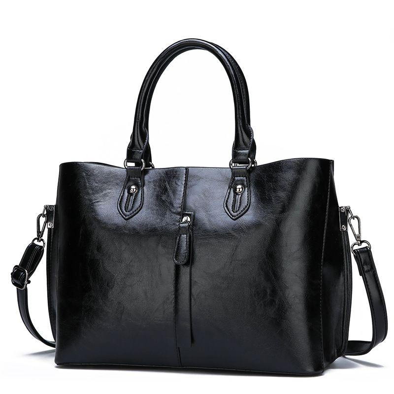 Echtem Leder Tasche Handtaschen Neue Ankunft Mode Luxus Frauen Handtasche Schulter Taschen Dame Große Kapazität Crossbody Hand Tasche C821