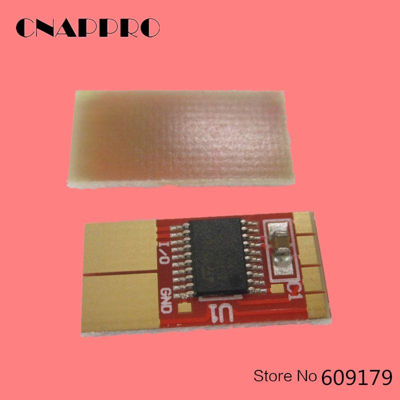 CNAPPRO 10pcs/lot m5200n m 5200 n toner cartridge chip for DELL m5200 w5300n printer chip