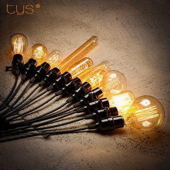Rétro Edison Ampoule E27 220 V 110 V 40 W ST64 A19 G80 G95 filament ampoule À Incandescence vintage ampoule Edison Lampe pour la décoration intérieure
