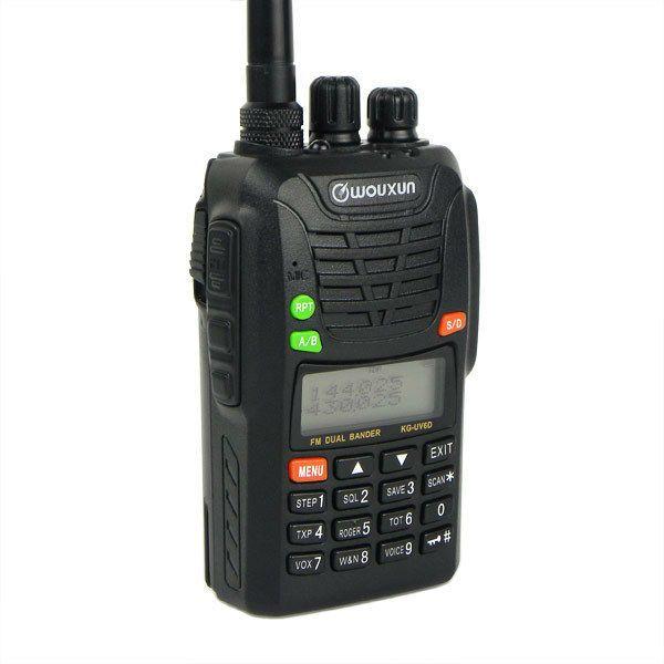Wouxun  KG-UV6D VHF 66-88 AND UHF 400-480MHz Radio dual band Ham Radio