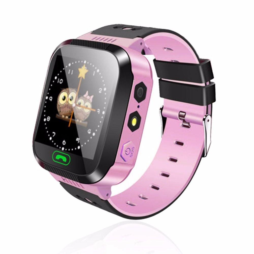 Y03 Смарт-часы Сенсорный экран GPRS трекер анти-потерянный SmartWatch детские часы с дистанционным Камера SIM вызовов для детей childre