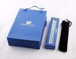 Diamant sur le dessus stylo Cristal stylo à bille avec cadeau logo élément boîte cas Diamant cristal stylos