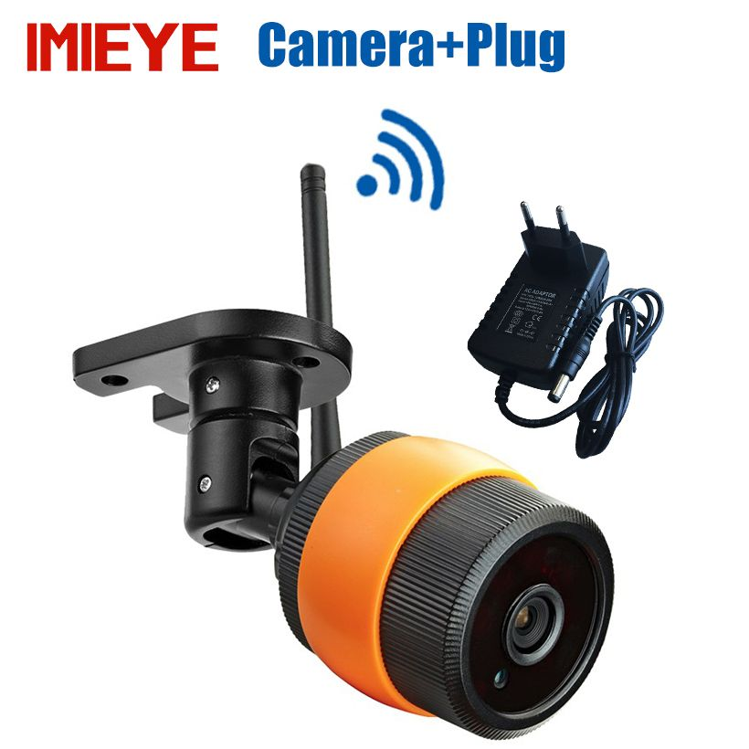 IMIEYE 960 P En Plein Air Mini Caméra IP Sans Fil Wifi Bullet Étanche IR Nuit Vision 64G TF Carte CCTV Surveillance Wi-fi Caméra