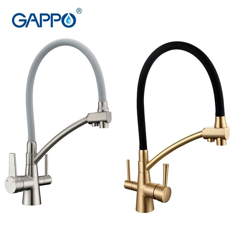 GAPPO water filter taps kitchen faucet mixer kitchen taps mixer sink faucets water purifier taps kitchen mixer filter GA4398